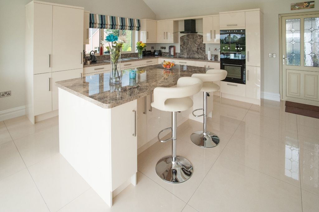 A Recent High Gloss Kitchen Installed Outside Mallow Co Cork We