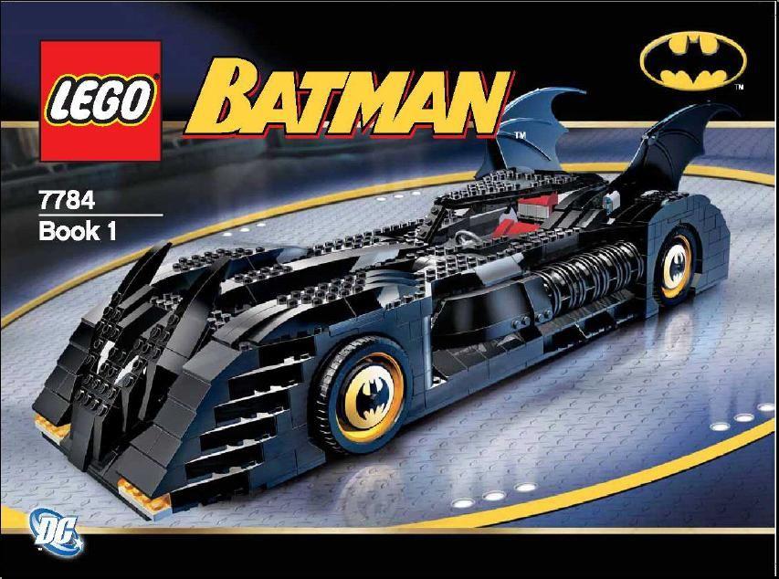 Batman The Batmobile Ultimate Collectors Edition Lego 7784