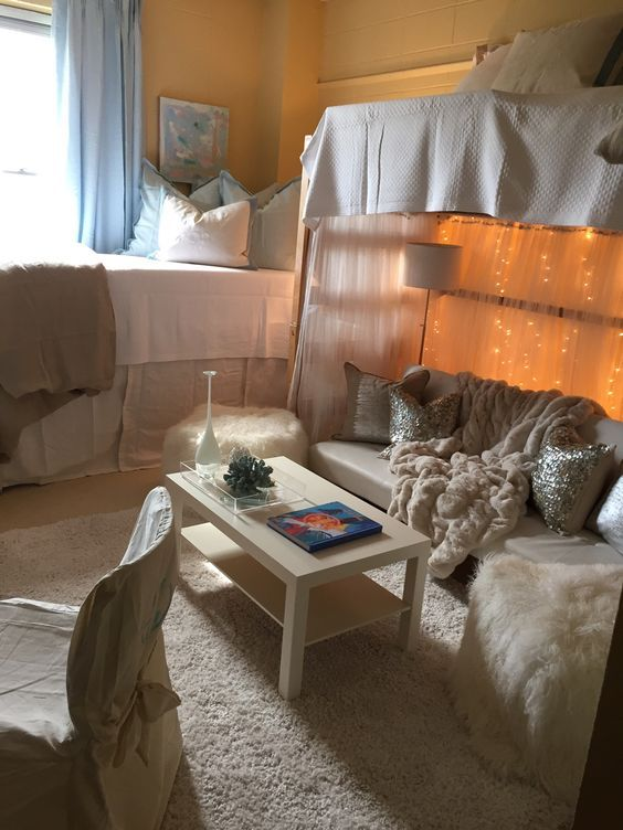 11 Ways To Make The Most Of Your Dorm Room: Cool Dorm Rooms, Dorm Room