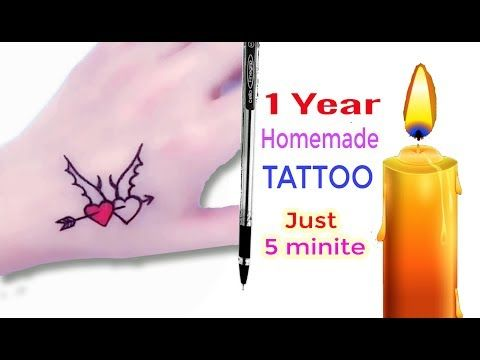 Photo of How To Make Permanent Tattoo At Home With Pen | Diy Tattoo With Pen | Pen Tattoo – Time lapse #6