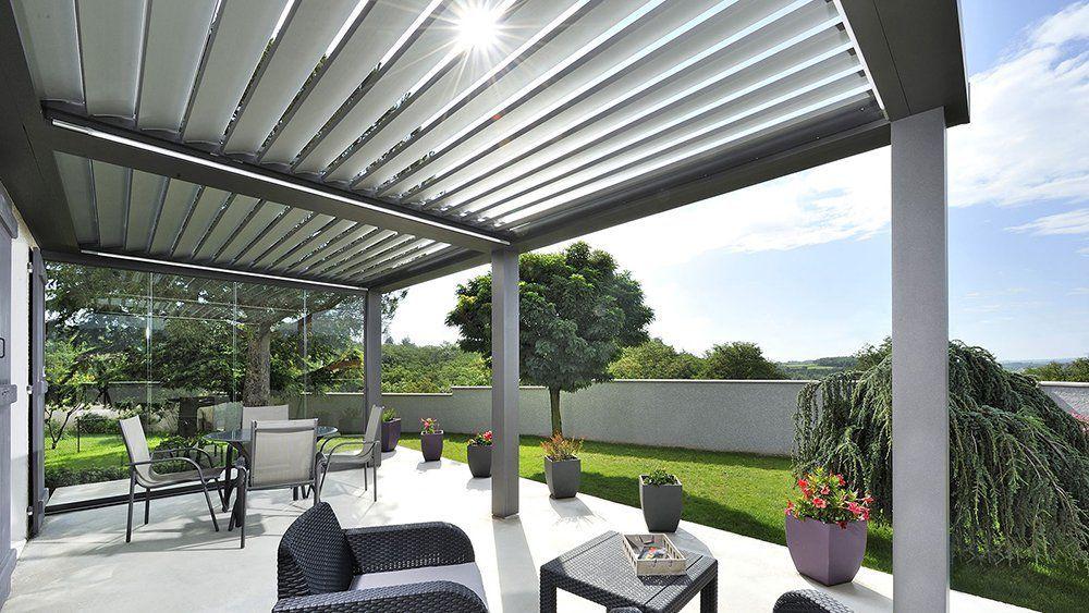 Terrasse Couverte Pergola