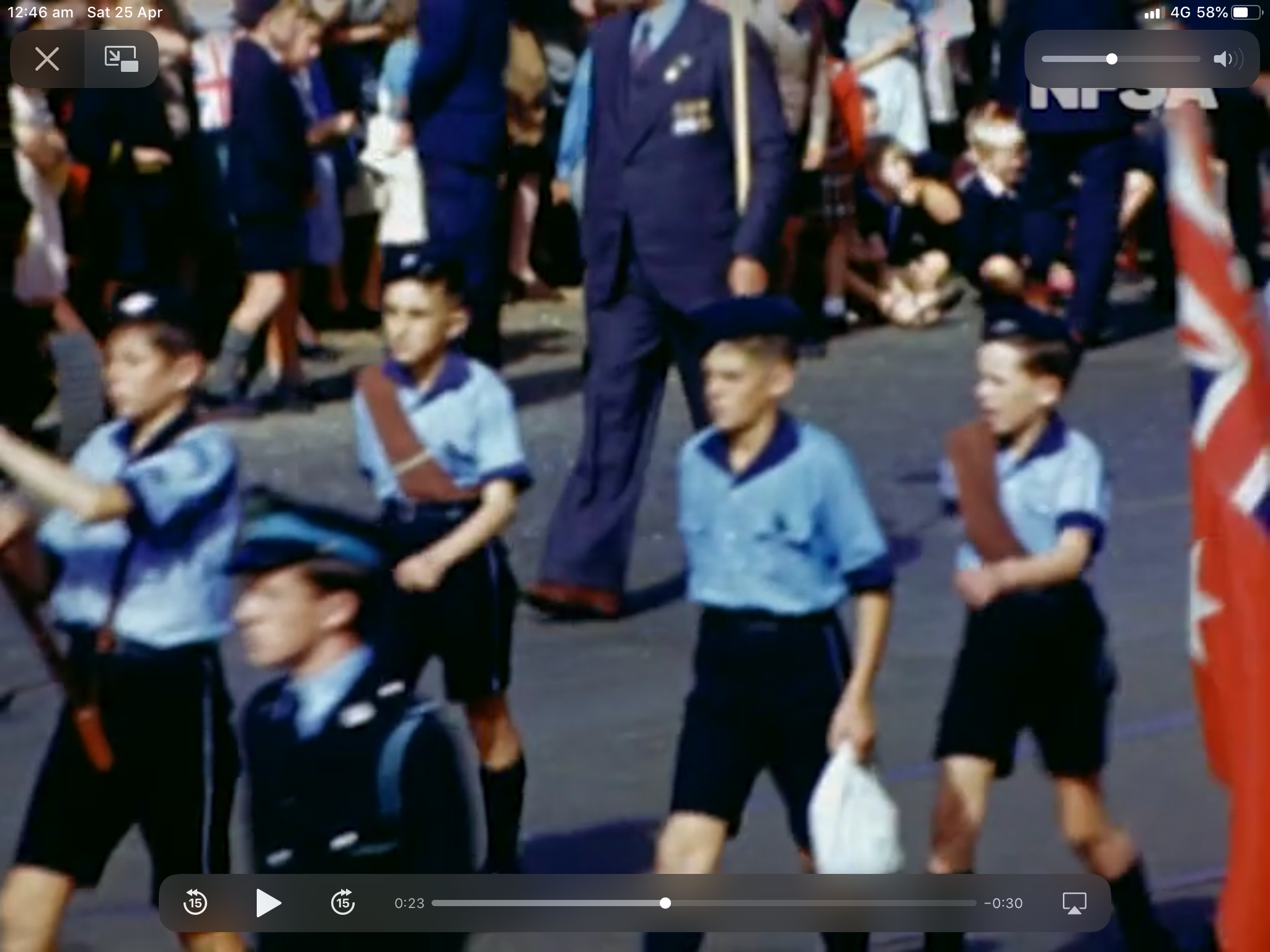 Anzac Day History, Marches and Traditions NFSA in 2020
