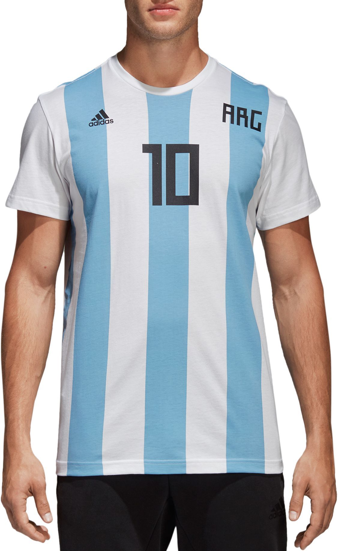 Lionel 10 Men's 2018 Fifa World Argentina T Cup Shirt Adidas Messi OW8YT1qgTH