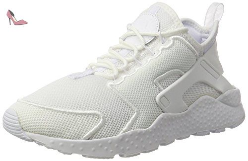 Court Borough Mid (GS), Baskets Garçon, Blanc (White/White-White), 38.5 EUNike