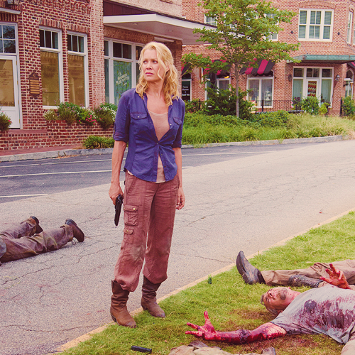 The Walking Dead-- Andrea in The Suicide King