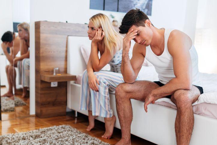 Страх во время секса у мужчин