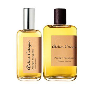 Orange Sanguine Cologne. A classic cologne blend is updated with zesty and energizing bursts of crushed ripe blood orange, which artfully plays against amber and sensual notes of geranium from South Africa.