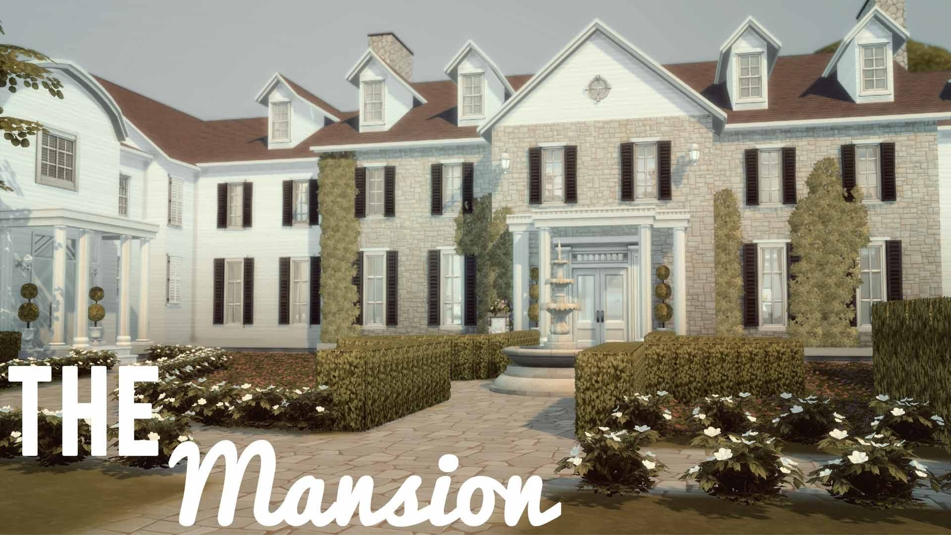 The Sims 4 House Building The Mansion sims Pinterest