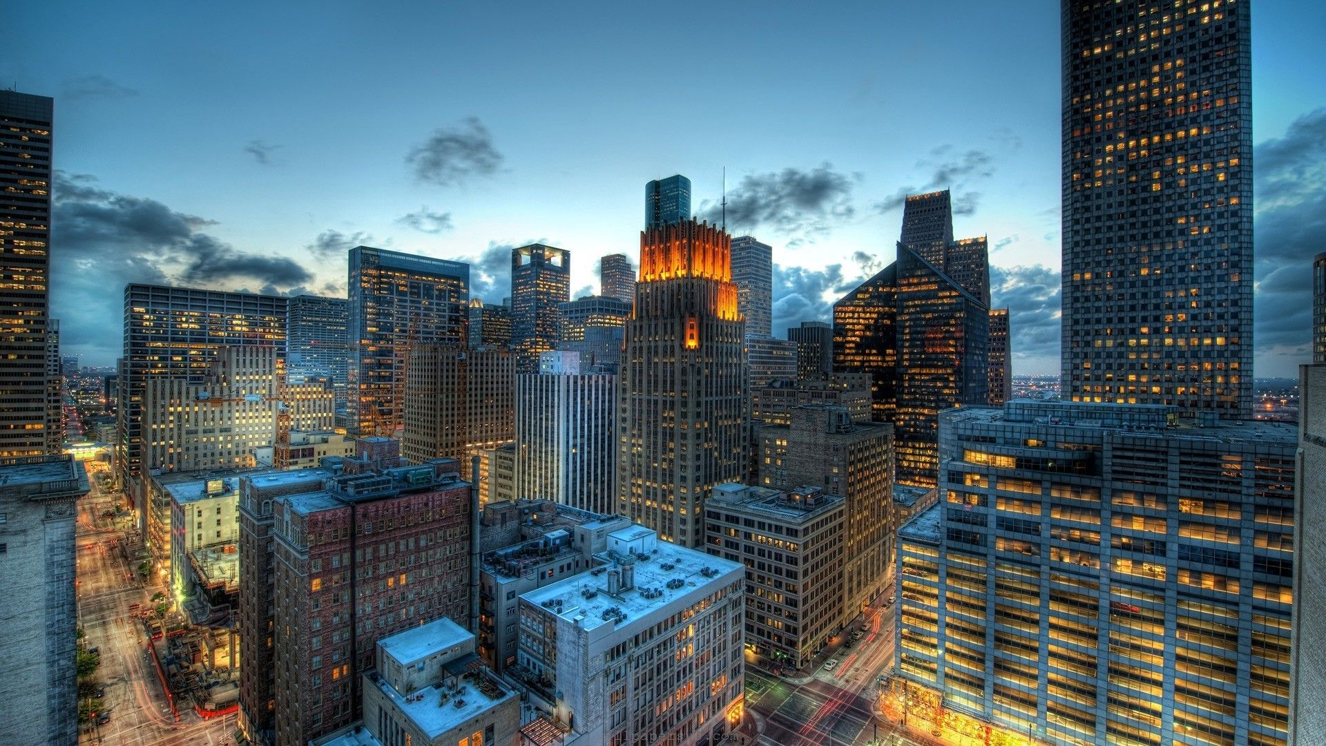 Houston Houston Skyline City Landscape Skyline