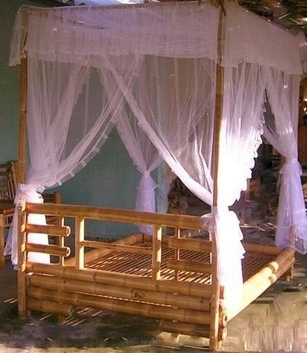 Pin By Rebekah Pardee On Bamboo Bedroom Poster Bed Canopy