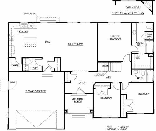 Nice Floorplan But Missing A Formal Living Room I Dont Like
