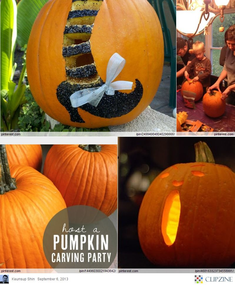 Creative Pumpkin Party Ideas Pumpkin Carving Party Creative Pumpkins Halloween Pumpkins Halloween Party