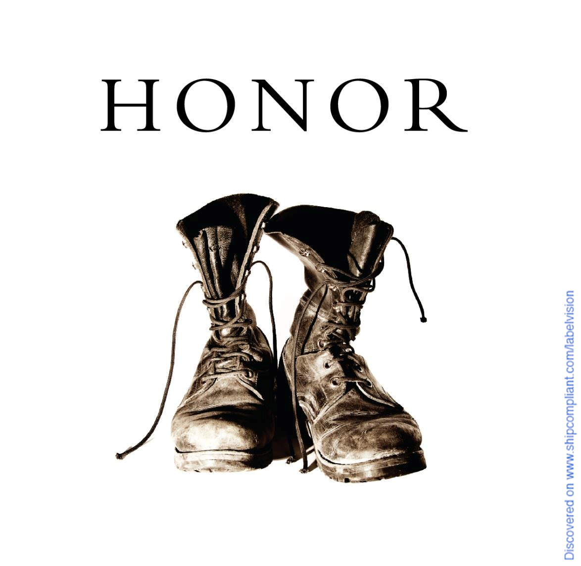 I found HONOR Pinot Noir RUSSIAN RIVER VALLEY on ShipCompliant.com/LabelVision