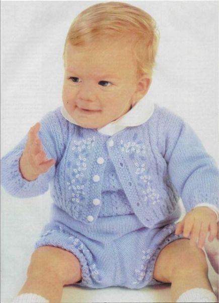 Free Knitting Pattern Boys Baby Clothes Models Idmugs Pinterest