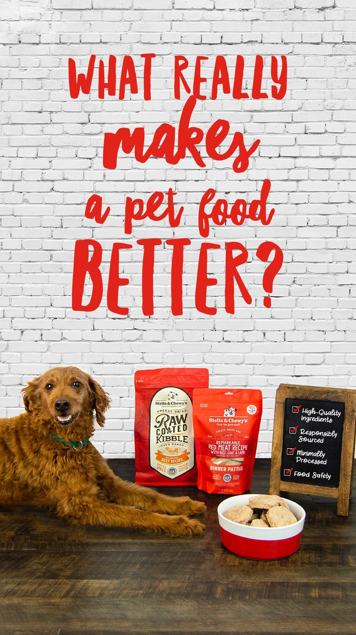 What Makes A Pet Food Better Is One Of The Most Frequently Asked