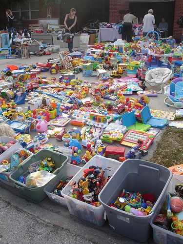 This Is What My Last Garage Sale Looked Like Garage Sale
