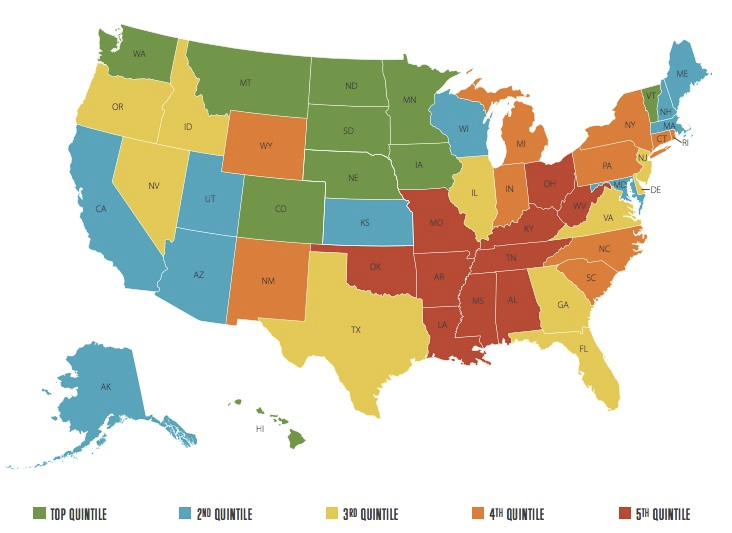 25 maps and charts that explain America today Chart Social