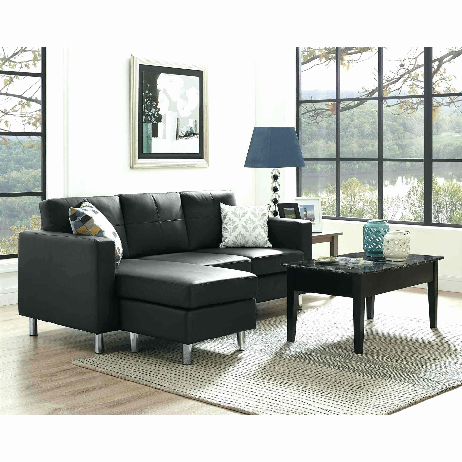Best Awesome Black Sectional Sofas Photos Chaise Leather L 640 x 480