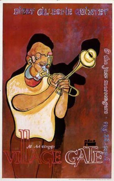 Dizzy Gillespie Quintet - Village Gate / Avi A. Farin 1979