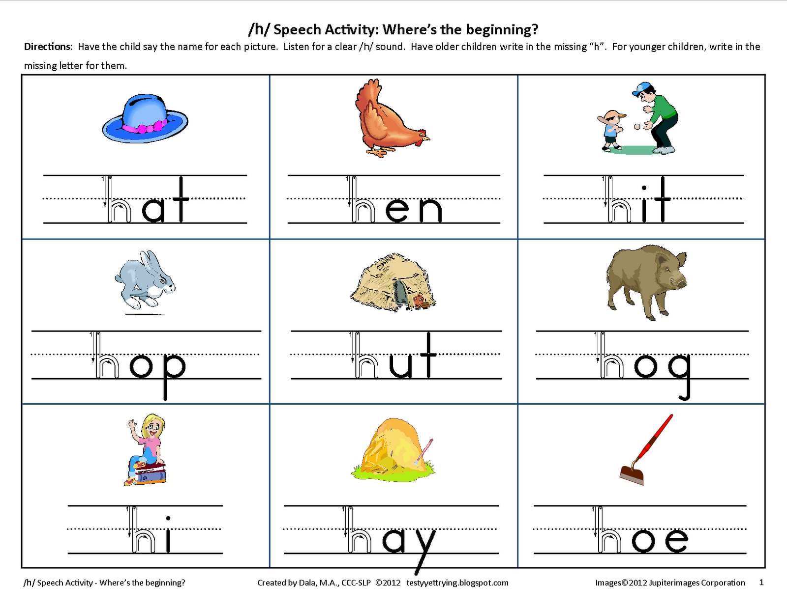 worksheet Mommy Speech Therapy Worksheets 78 images about speech on pinterest initials reading specialist and words