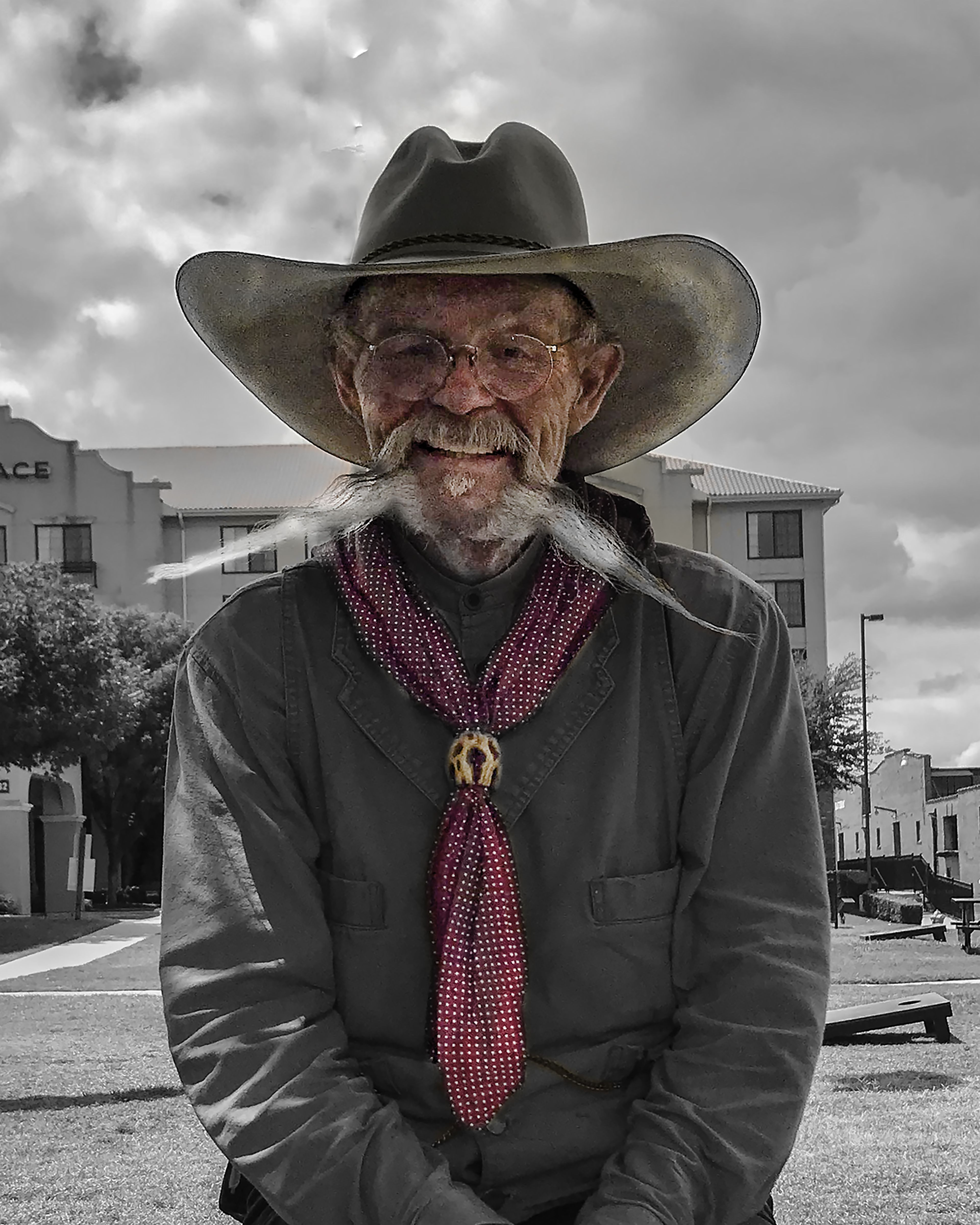Fort Worth Cowboy Wes Stigen. Wes is one of the Wranglers