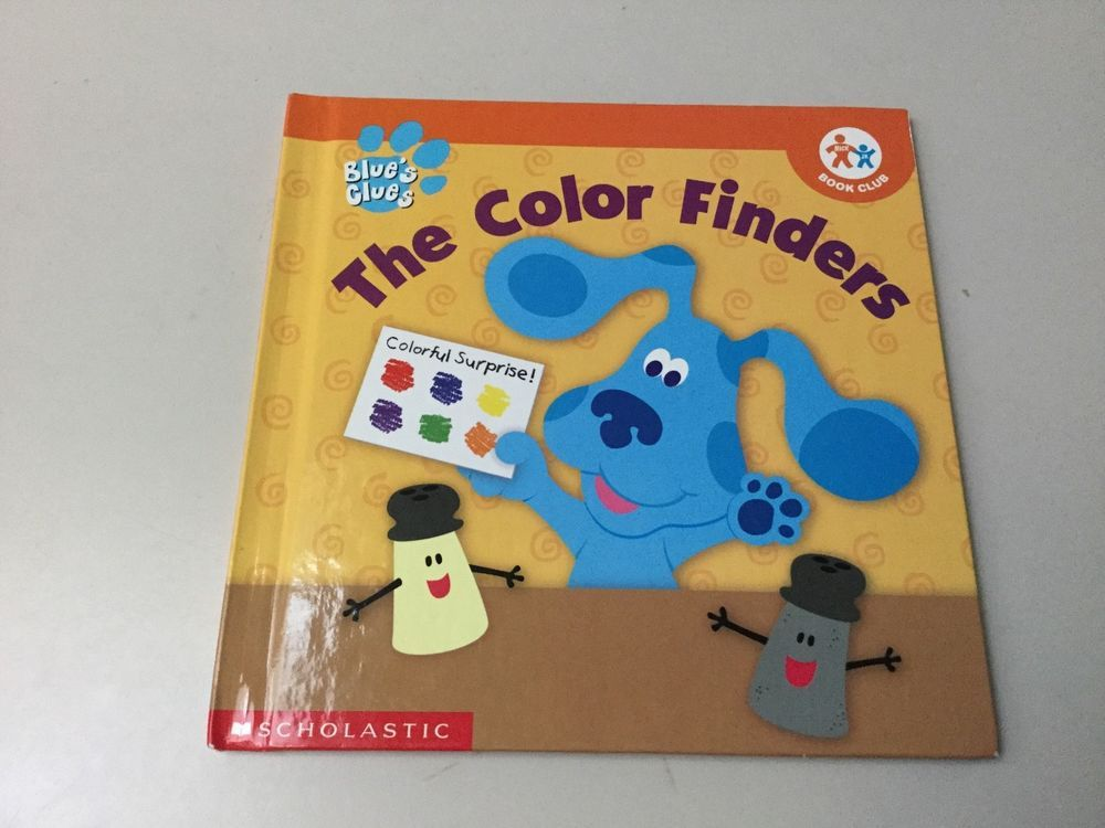 Blues Clues The Color Finders Nick Jr Book Club Hardcover Nick Jr Blues Clues Book Club Books