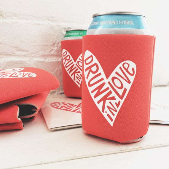 Bachelorette Party Koozies Drunk In Love Bloggers