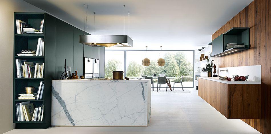 next125 - NX 500 Jaguar green satin Studio 35 Kitchens Pinterest