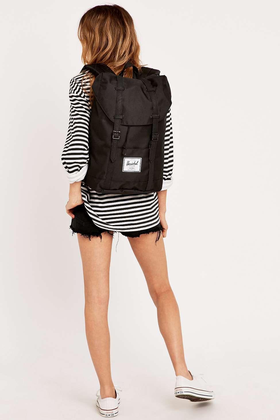 Herschel Supply co. Retreat Backpack in Black  305d0b71e3424