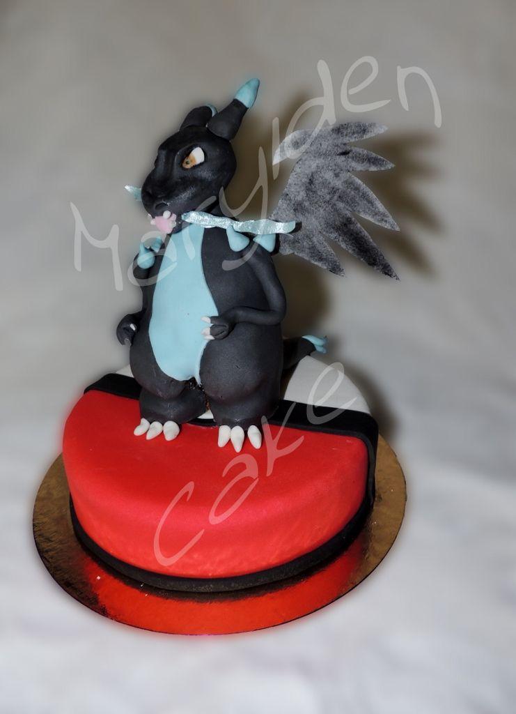 marylden cake cake design g teau pokemon mega dracaufeu. Black Bedroom Furniture Sets. Home Design Ideas
