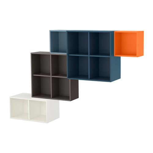 Ikea Eket Wall Mounted Cabinet Combination Multicolor Products