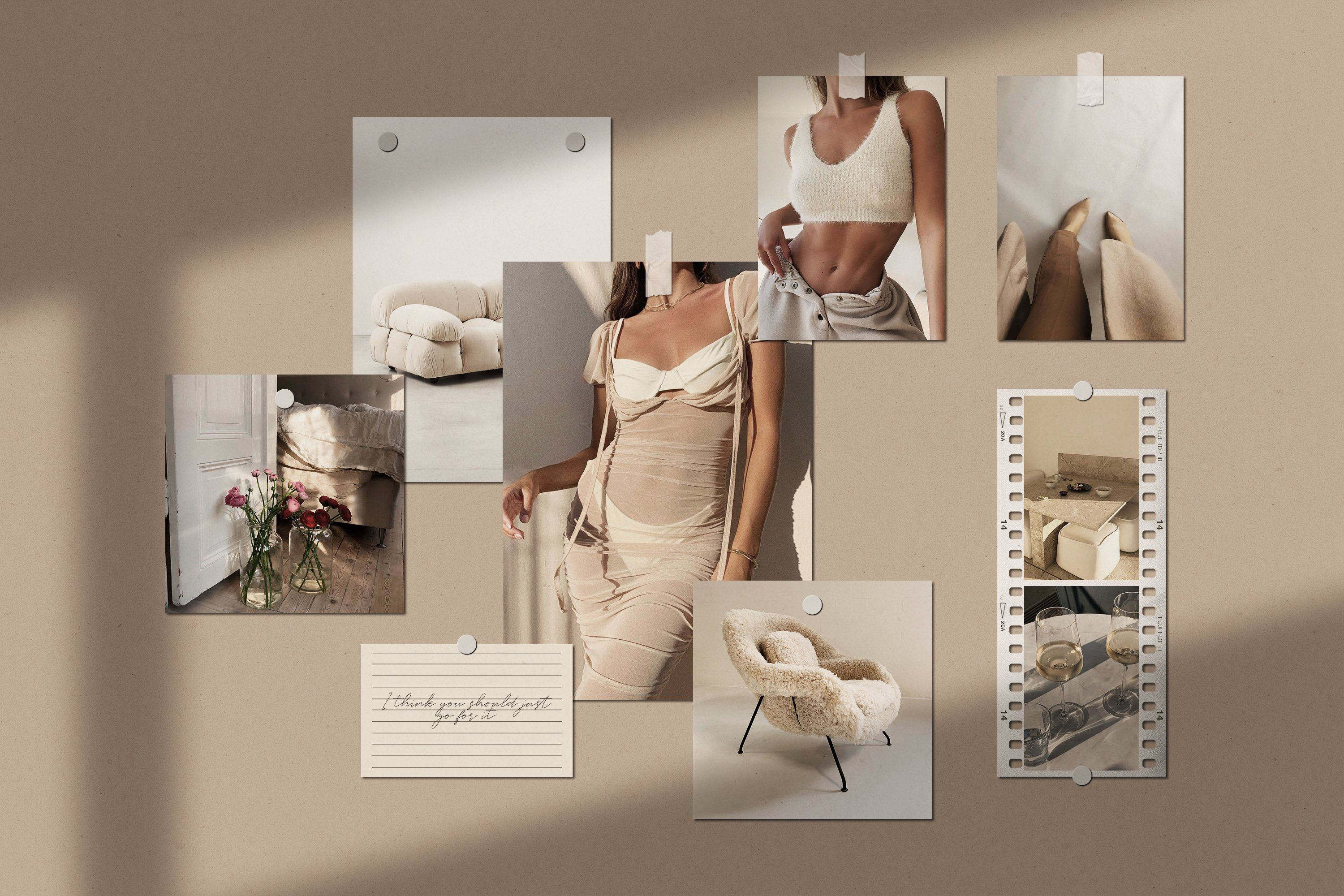 Tons of awesome aesthetic laptop wallpapers to download for free. Realistic Mood Board Mockups PSD by Feel This on ...