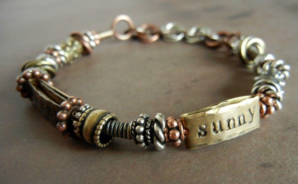 DIY Copper Bangle Bracelets