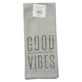 Kitchen Towels Target Outdoor Lighting Towel Good Vibes Apt Pinterest Threshold