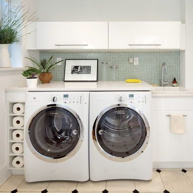 Built In Washer Dryer Design Use Ikea Wine Cabinet Left