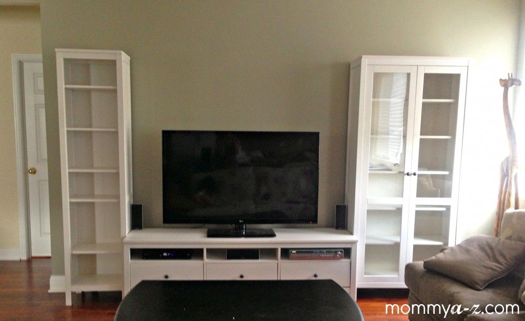 Ikea Entertainment Unit Hemnes Tv Stand Family Room