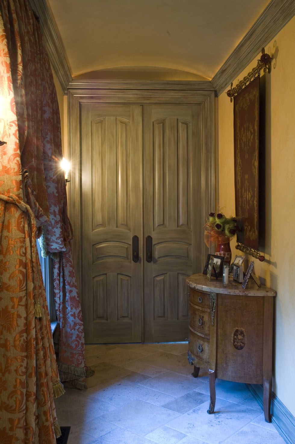 Interior Door tuscan interior doors pictures : Lake Bluff Tuscan Residence | Dream home | Pinterest