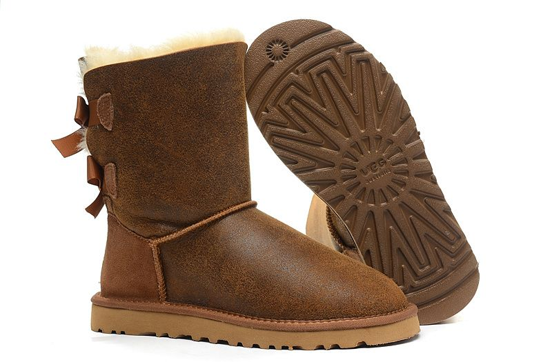 56cf0ddc5b7 NEW STYLE UGG MEN BAILEY BOW BOOTS 3280 WATEPROOF CHESTNUT SHEEPSKIN ...