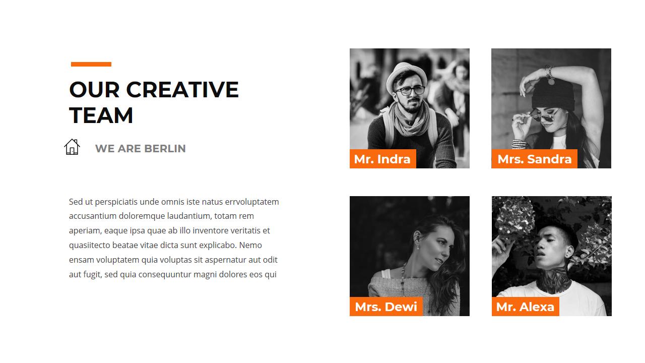 Berlin Creative Keynote Creative powerpoint, Powerpoint