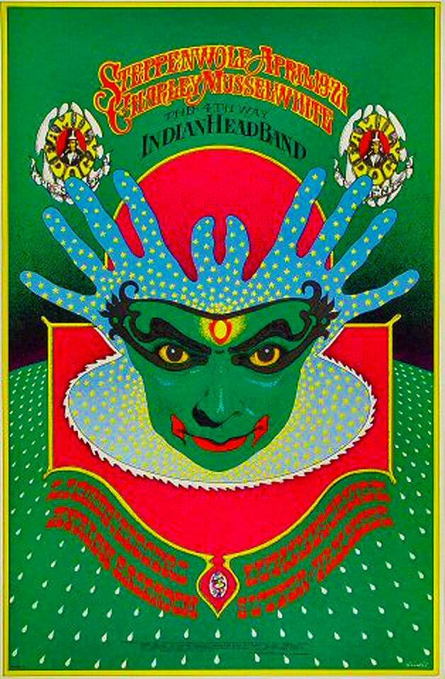 Steppenwolf and Charlie Musselwhite at The Avalon Ballroom 1968. Artist: Bob Fried.