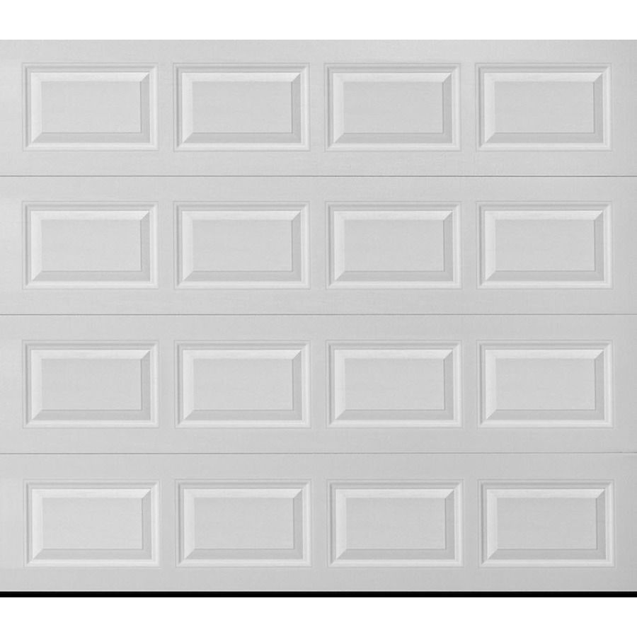 Pella 108 In X 84 In Insulated White Single Garage Door 810807 In 2020 Garage Doors Single Garage Door Garage Door Types