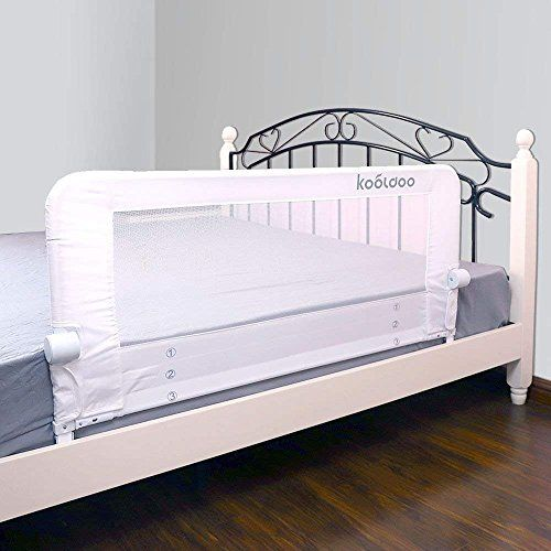 "KOOLDOO 43"" Fold Down Toddlers Safety Bed Rail Children images"