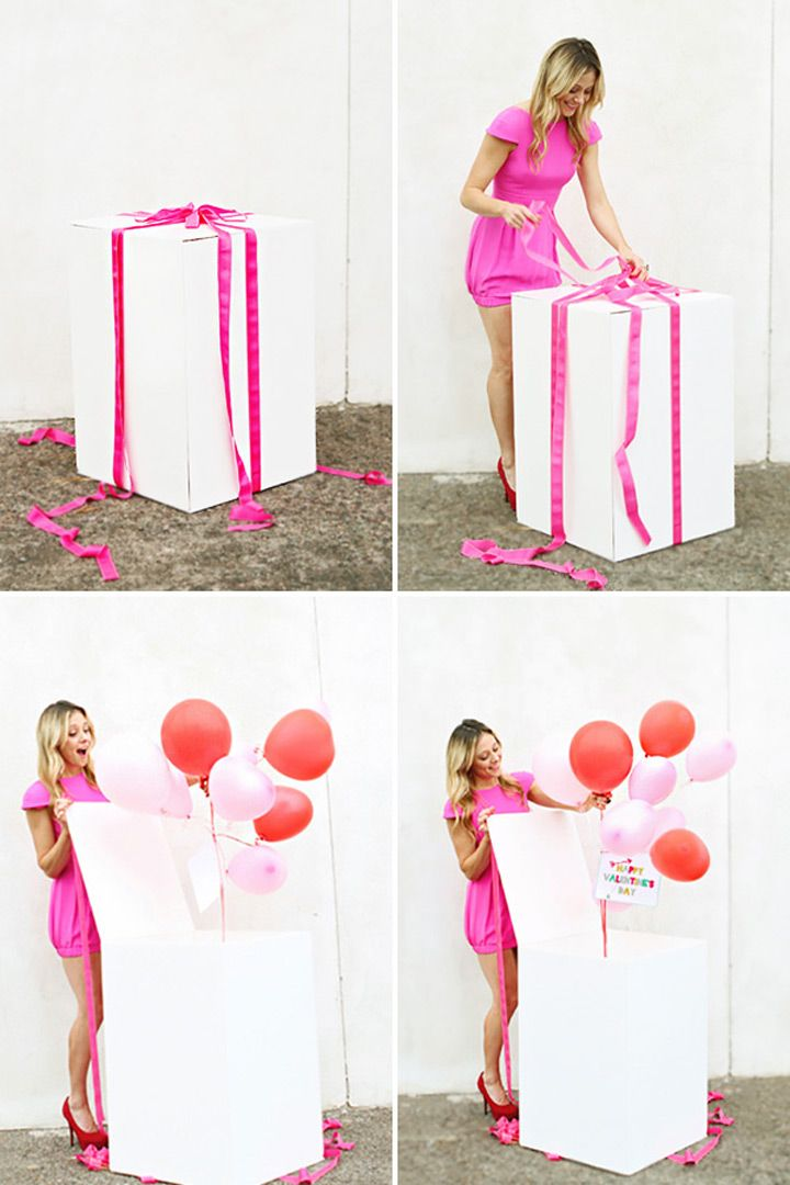 Box Of Balloons Surprise