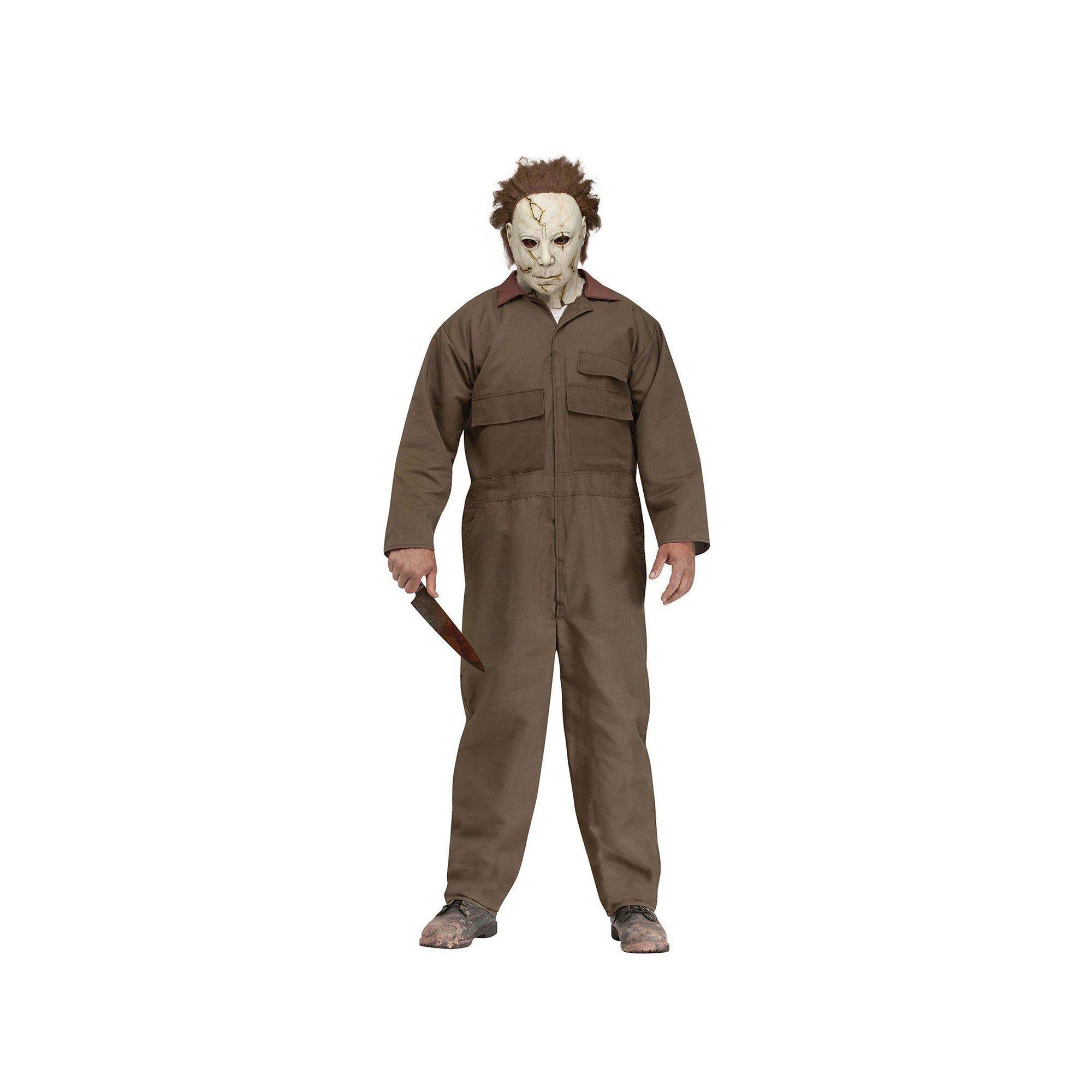 Michael Myers Costume Adult, Men's, Multicolor Michael