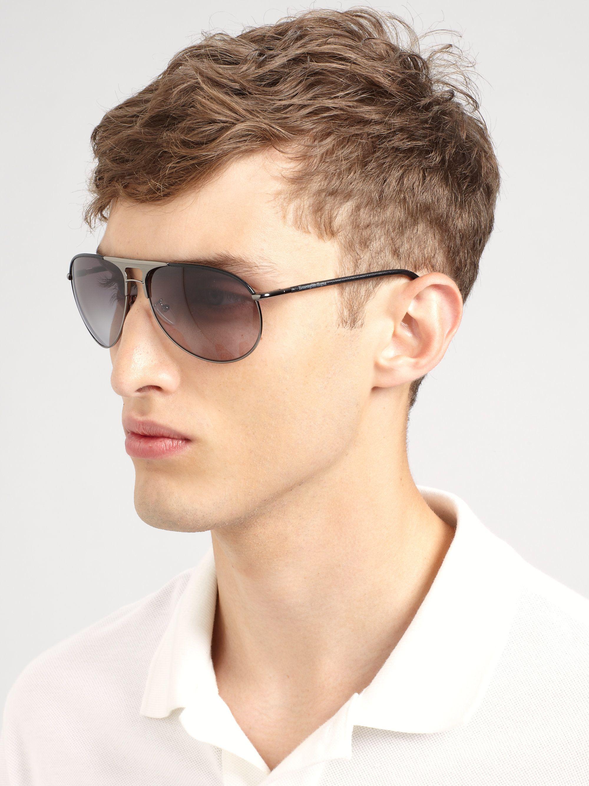 f2b4a28f Ermenegildo zegna Aviator Sunglasses | E R M E N G I L D O ...