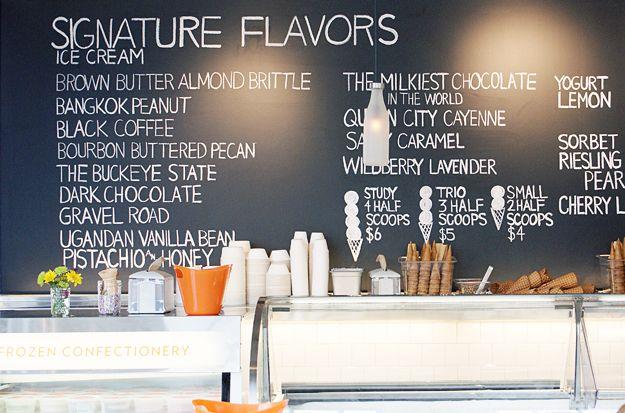 Vlinspiratie Ice Cream Business Ice Cream Menu Ice Cream Flavors
