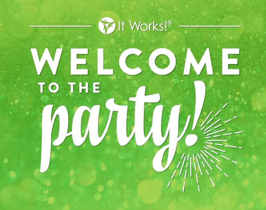 Hey guys Having an online It Works party and its an open invite
