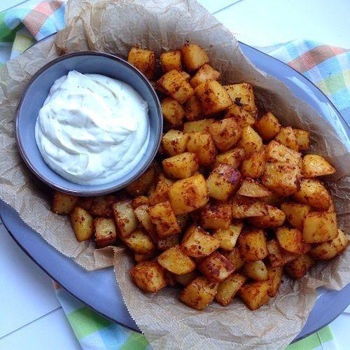 BBQ-Röstkartoffeln aus dem Backofen (Greenway36 - der Foodblog mit #pillefüße) #kartoffeleckenbackofen BBQ-Röstkartoffeln aus dem Backofen | Greenway36 - der Foodblog mit #pillefüße | Bloglovin' #kartoffeleckenbackofen