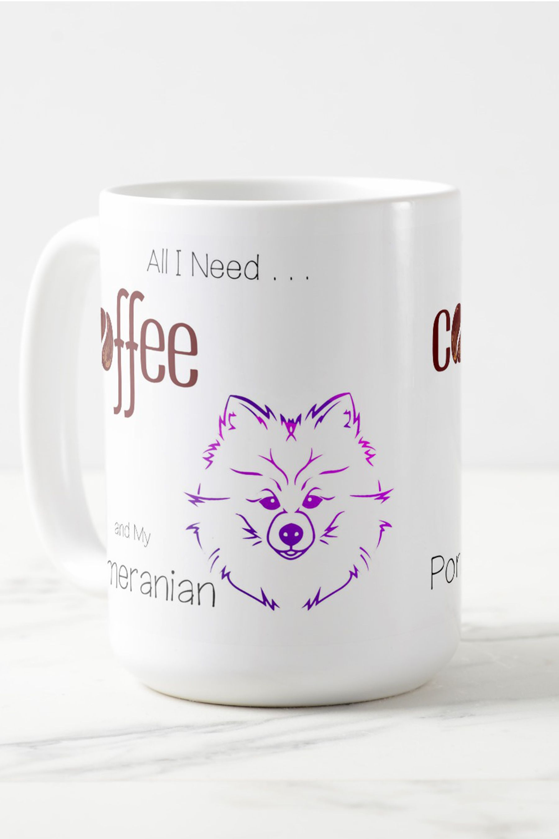 PRESENT GREAT GIFT TEACUP POMERANIAN CHILDS PERSONALISED NAMED KIDS T-SHIRT