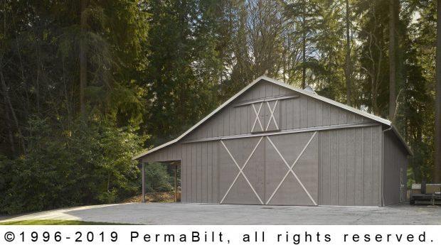 Pole Barn Garage Woodway WA